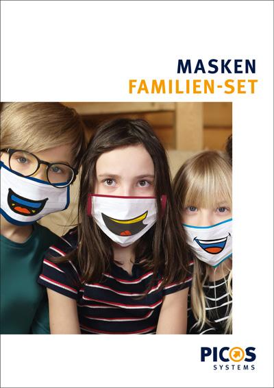 PICOS CARE Masken Familienset