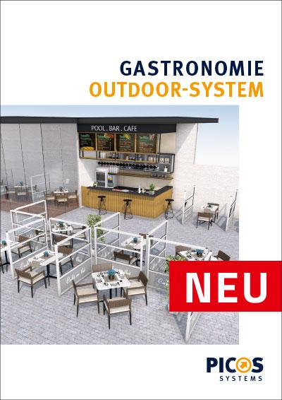 PICOS CARE Gastronomie Outdoor-Systeme